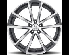 Mandrus Wheels WOLF - Gloss Gunmetal - Mirror cut face