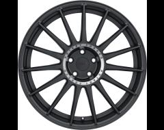 TSW Wheels PADDOCK - Semi Gloss Black - Machined tinted ring