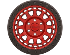 Black Rhino Wheels PRIMM BEADLOCK - Candy Red - Black ring and black bolts