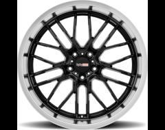 Cray Wheels EAGLE - Gloss Black - Mirror cut lip