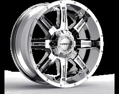 Krank Wheels Shaft - Chrome