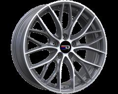 EURO DESIGN Wheels Camillo - Gunmetal - Machined