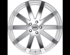 TSW Wheels BROOKLANDS - Silver - Mirror cut face
