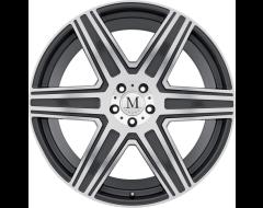 Mandrus Wheels ATLAS - Gunmetal - Mirror cut face