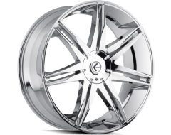 Kraze Wheels EPIC KR143 Series - Chrome