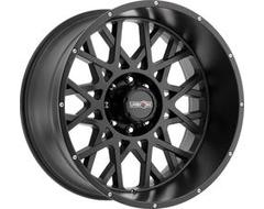 Vision Wheels 412 Rocker - Satin Black