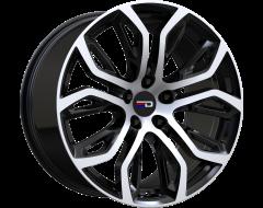 EURO DESIGN Wheels Tillman - Gloss Black - Polished