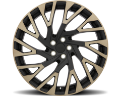 Redbourne Wheels WESTMINSTER - Matte Black - Machined face and dark matte tint