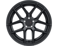 TSW Wheels TABAC - Semi Gloss Black