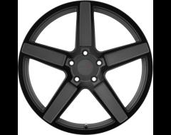 TSW Wheels ASCENT - Matte Gunmetal - Gloss Black Face