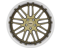 TSW Wheels AVALON - Bronze - brushed bronze face and machined lip