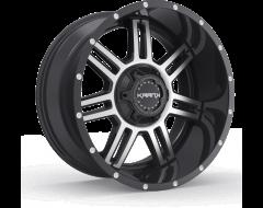 Krank Wheels Force - Gloss Black - Machined