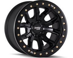 Dirty Life Wheels DT-1 9303 Series - Matte Black - Simulated ring