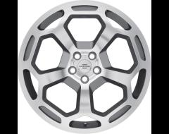 Redbourne Wheels BASHFORD - Gunmetal - Mirror cut face