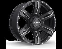 Krank Wheels Caliper - Gloss Black Milled