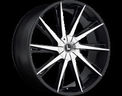 Kraze Wheels SWAGG KR144 Series - Black - Machined