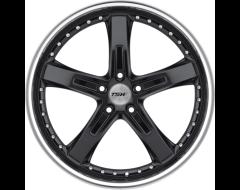 TSW Wheels JARAMA - Gloss Black - Mirror cut lip