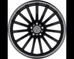 Mandrus Wheels MILLENIUM - Gloss Black - Mirror cut lip