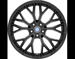 Beyern Wheels ANTLER - Double Black - Gloss Black Face
