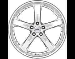 TSW Wheels JARAMA - Hyper Silver - Mirror cut lip