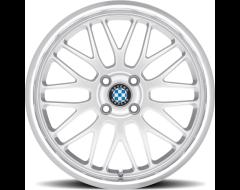 Beyern Wheels MESH - Silver - Mirror cut lip