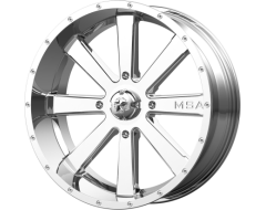 MSA Wheels M34 FLASH - Chrome