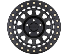 Black Rhino Wheels PRIMM - Matte Black - Brass bolts