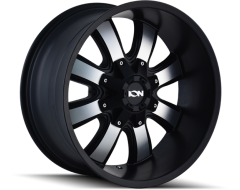 Ion Wheels 189 Series - Satin Black - Machined Face