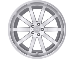 Mandrus Wheels WILHELM - Silver - Mirror cut face and lip