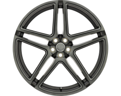 Redbourne Wheels CROWN - Matte Black - Ball milled spokes