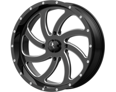 MSA Wheels M36 SWITCH - Gloss Black Milled