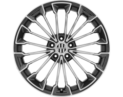 VICTOR EQUIPMENT WURTTEMBURG Wheels - Gunmetal - Mirror cut face