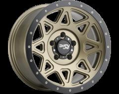 Dirty Life Wheels THEORY 9305 Series - Matte gold - Matte black lip