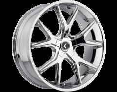 Kraze Wheels SPLTZ KR146 Series - Chrome