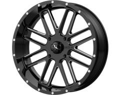 MSA Wheels M35 BANDIT - Gloss Black Milled