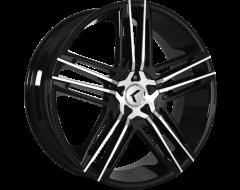 Kraze Wheels HELLA KR157 Series - Black - Machined