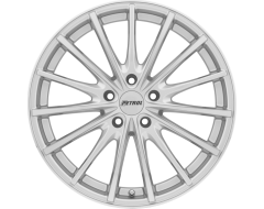 Petrol Wheels P3A - Silver - Machined cut face