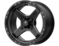 MSA Wheels M39 CROSS - Satin Black - Titanium Tint