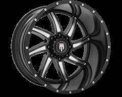 AMERICAN TRUXX VORTEX AT162 Series - Black - Milled