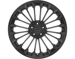 VICTOR EQUIPMENT WURTTEMBURG Wheels - Matte Black - Gloss Black Face
