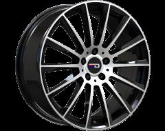 EURO DESIGN Wheels Sacco - Gloss Black - Machined