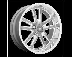 US MAG Wheels U130 BULLET - Textured gunmetal - Milled edges