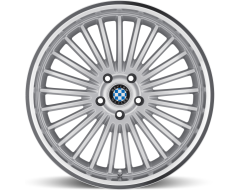 Beyern Wheels MULTI - Silver - Mirror cut lip