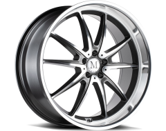 Mandrus Wheels ARGENT - Gloss Gunmetal - Mirror cut face