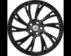Redbourne Wheels NOBLE - Double Black - Gloss Black Face