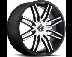 Kraze Wheels CRAY KR141 Series - Black - Milled