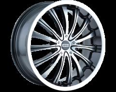 DIP Wheels HYPE D50 Series - Machined - Machined lip