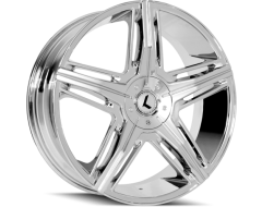 Kraze Wheels HYPE KR158 Series - Chrome