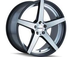 Touren Wheels TR20 3220 Series - Matte Black - Machined face/machined undercut