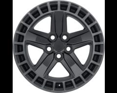 Redbourne Wheels ALSTON - Matte Black - Machined dark tint lip
